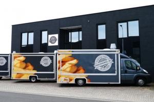 Frietwagen Limburg zien rijden