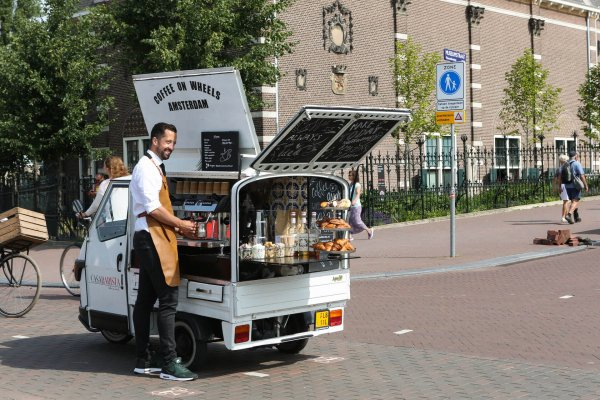 Barista in Amsterdam